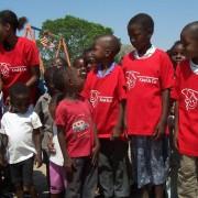 Kinderen in Rundu