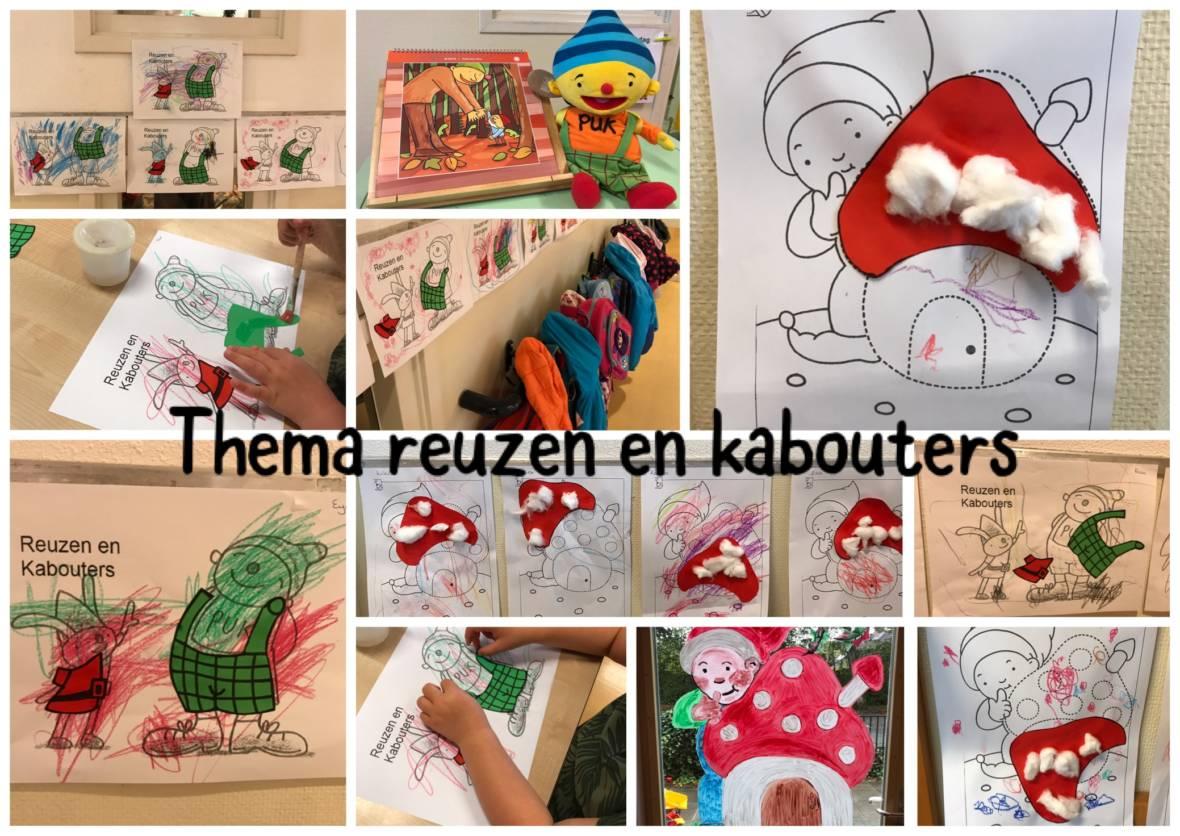 Uitzonderlijk Reuzen en kabouters bij peutergroep De Schommel | KMN Kind & Co @IO06