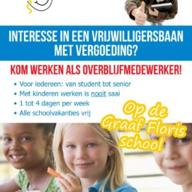 vrijwilligersbaan TSO Graaf Floris